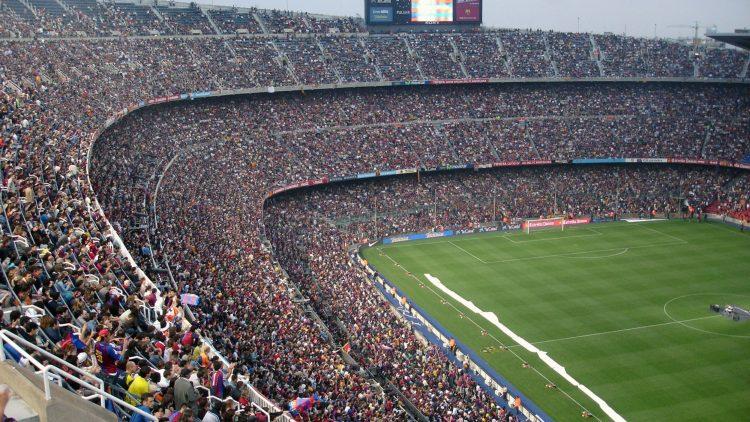 voetbal-stadion